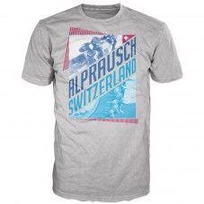 Kudi Alpspikes grey melange +Alprausch men's T-shirt Grey, Mens Tops, T Shirt, Fashion, Gray, Supreme T Shirt, Moda, Tee, Fashion Styles