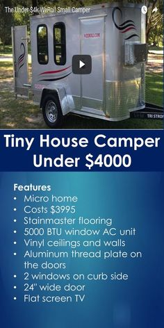 What You Should Know About Tiny Home Insurance Small Travel Trailers, Tiny Trailers, Tiny House Trailer, Tiny House Cabin, Tiny House On Wheels, Camping Trailers, Tiny Camper, Small Campers, Small Rv