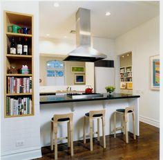 Brooklyn Heights Kitchen Peninsula