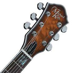 Hello Music: Michael Kelly Guitar  Hybrid Special - Honey Burst