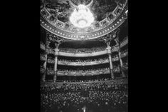 """ The Family of Man"" Auditorium of the Paris Opera House, 1949. by Walter Sanders"