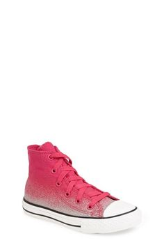 Converse Chuck Taylor® All Star® 'Sparkle' High Top Sneaker (Toddler, Little Kid & Big Kid) available at #Nordstrom