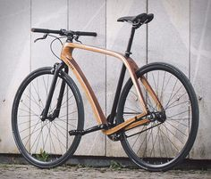 Tratar is a small company that handcrafts bicycles in Slovenia in quite an interesting fashion. The beautiful bikes are crafted from top quality, locally sourced Slovenian wood and assembled by hand with biodegradable glue to minimize the production'