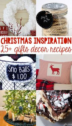 25 Ideas for Christmas - Christmas Gifts, Christmas Decor and Christmas Recipes