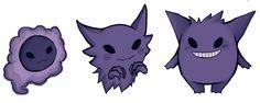 OP: Finally drew Haunter to finish the trio~   Pokemon