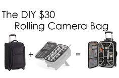 [DIY] The DIY $30 Rolling Camera Bag
