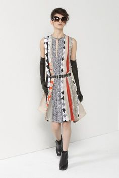 Diane von Furstenberg | Pre-Fall 2012 Collection | Vogue Runway
