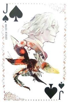 Mado Kureo ~ Jack of Spades ~ Tokyo Ghoul trump cards