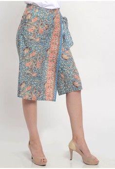 Wanita > Batik > Pakaian Print > Bawahan > Batik Cullote with flap > Beyounique