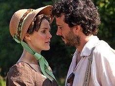 Movie Guide | AUSTEN-FAN Keri Russell plays a single woman searching for love at a Jane Austen reenactment event - Click for cast interview video.