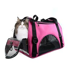 All Cart Cat Dog Pet Carrier Mesh Pup Pack Portable Travel Backpack *** Visit the affiliate link Amazon.com on image for more details.