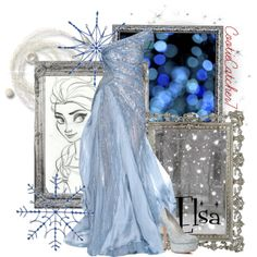 """Elsa"" by cootiecatcher7 on Polyvore"