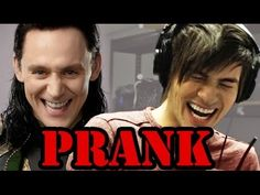 Tom Hiddleston Interview prank by Smosh. I literally had a very hard time breathing because I was laughing so hard. I have literally never experienced more joy from a YouTube video.