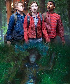 Luke, Annabeth, Grover, Thalia