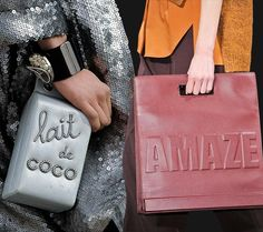 Bags With Messages Speak for Fall 2014 - Fashion Trends, Makeup Tutorials, Hairstyles and Style Secrets