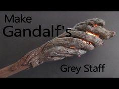 Cosplay DIY Armor Tutorial | Make Gandalf the Greys Staff from The Hobbit - YouTube