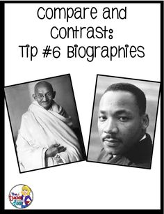What are two historical figures i can compare and contrast?