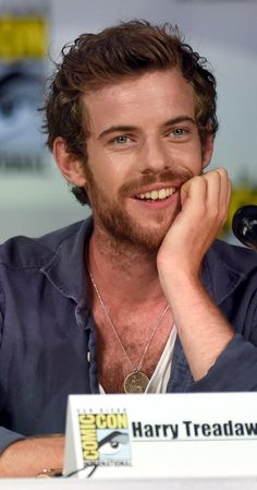 "Harry Treadaway - Showtime's ""Penny Dreadful"" Panel - Comic-Con International"