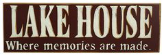 Take a look at this 'Lake House' Sign by Primitives by Kathy on today! Lake House Signs, Lake Signs, Tenerife, Haus Am See, Lake Decor, Twin Lakes, Rustic Wall Decor, Cabin Fever, Lake Life