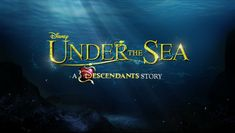 BREAKING NEWS for fans of our favorite Disney villain kids! Under the Sea A Descendants Story will be airing next month and we get a sneak peek! Read on...