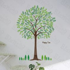 tall large tree wall decals birds decorative vinyl home decor stickers vine tree large wall decals stickers appliques home decor