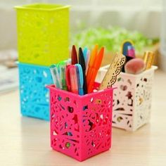 Buy 'Cuteberry – Set of 6: Cutout Pen Holder' with Free International Shipping at YesStyle.com. Browse and shop for thousands of Asian fashion items from China and more!