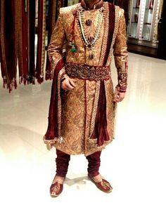 groom sherwani royal - Google Search. Royal Rajwada Sherwani.