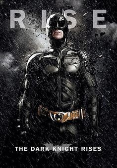 Póster Batman: The Dark Knight Rises, Batman