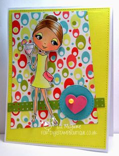 DigiStamp Boutique: Party Phoebe