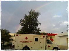 Lo mejor Cruz Roja y un arcoiris