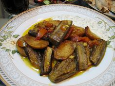 Afghan Eggplant Curry