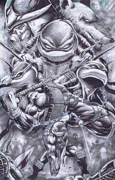 TMNT Poster 3 by emilcabaltierra on DeviantArt