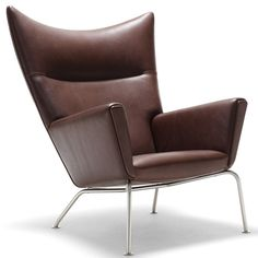 I think we pretty much have to get the Wegner chair!!   Limited Edition Wegner CH445 Wing Chair & Stool