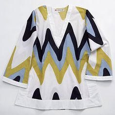 Chevron Tunic so cool. I will do this color combo on a phone case!