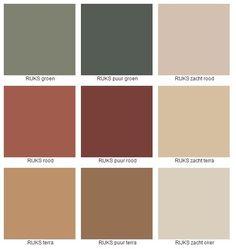 Rijks kleuren deel 2 Rijks kleuren deel 2 - Lilly is Love Color Palette For Home, Colour Pallette, Paint Colors For Home, Colour Schemes, House Colors, Color Trends, Room Setup, Living Room Sets, Home Design