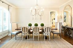Dining Room - French Country - Dining room - Photos by Amanda Carol Interiors | Wayfair
