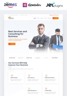 Create a professional image of your business consulting company with the help of Generisys theme. Business Web Design, Creative Business, Business Website Templates, Top Wordpress Themes, Engineering Consulting, Consulting Companies, Website Themes, Website Ideas, Business Marketing