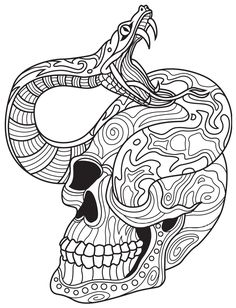 261 Best Sugar Skulls Day Of The Dead Coloring Pages For
