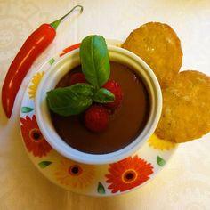 Edel's Mat & Vin : Bakt sjokoladekrem med chili ★