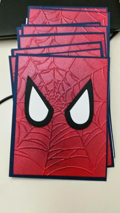 Spiderman invitations and Thank You cards