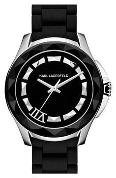karl lagerfeld 39 7 39 faceted bezel bracelet watch 44mm nordstrom online exclusive the o 39 jays. Black Bedroom Furniture Sets. Home Design Ideas