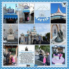 Around the Sleeping Beauty Castle | A Disney Project Mouse Story - A Photo Book from Kathleen Summers - Sahlin Studio Project Mouse
