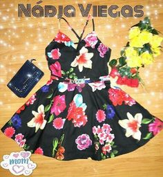 Vestidos florais  Instagram viegasnadja Summer Dresses, Mom, Instagram, Fashion, Floral Dresses, Flowergirl Dress, Moda, Summer Sundresses, La Mode