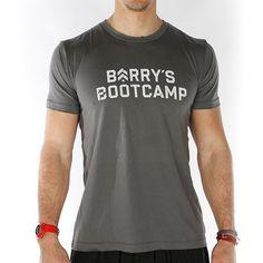 Men's J15 Barry's Bootcamp Tee www.barrysbootcamp.com #fitness #fitnessapparel #workoutclothes #mensfashion