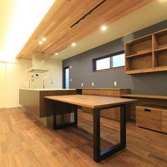 Kitchen Shelves, Kitchen Storage, Kitchen Interior, Kitchen Design, Clinic, House Design, Dining, Table, Room