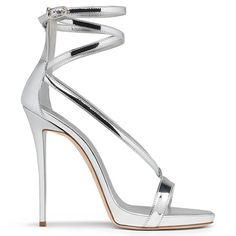 Maryjane - Sandals - Silver | Giuseppe Zanotti | Giuseppe Zanotti Design Online Store
