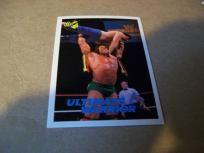 1990 card / Ultimate Warrior #43