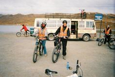 """getting ready to bike the """"World's Most Dangerous Road"""" in #Bolivia  #biking #adventure http://sorryimnotsorryblog.com/that-one-time-i-was-rescued-off-a-mountain-face-by-bolivian-swat/"""