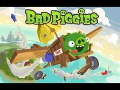Newest angry birds sequel! it's Bad piggies and will be released soon! very excited xD!
