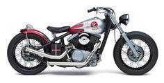 """Hot Saki"" Kawasaki Vulcan VN800A custom by Denny Berg | right side"